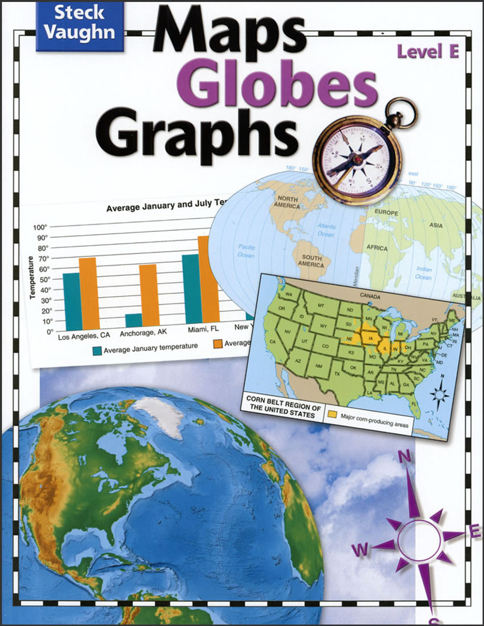 Maps, Globes, Graphs: Level E