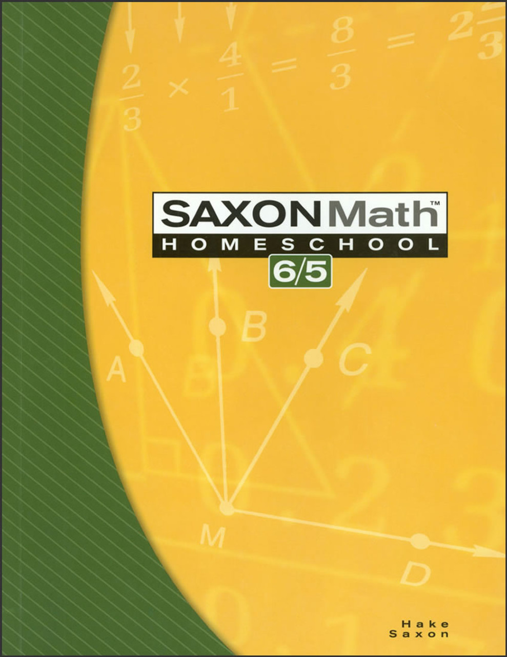 Saxon Math Homeschool 6/5, 3rd edition