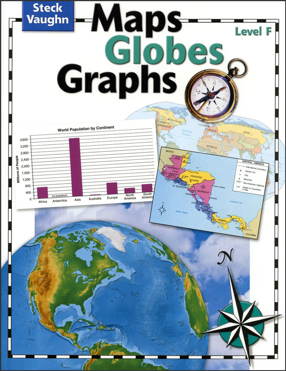 Maps, Globes, Graphs: Level F