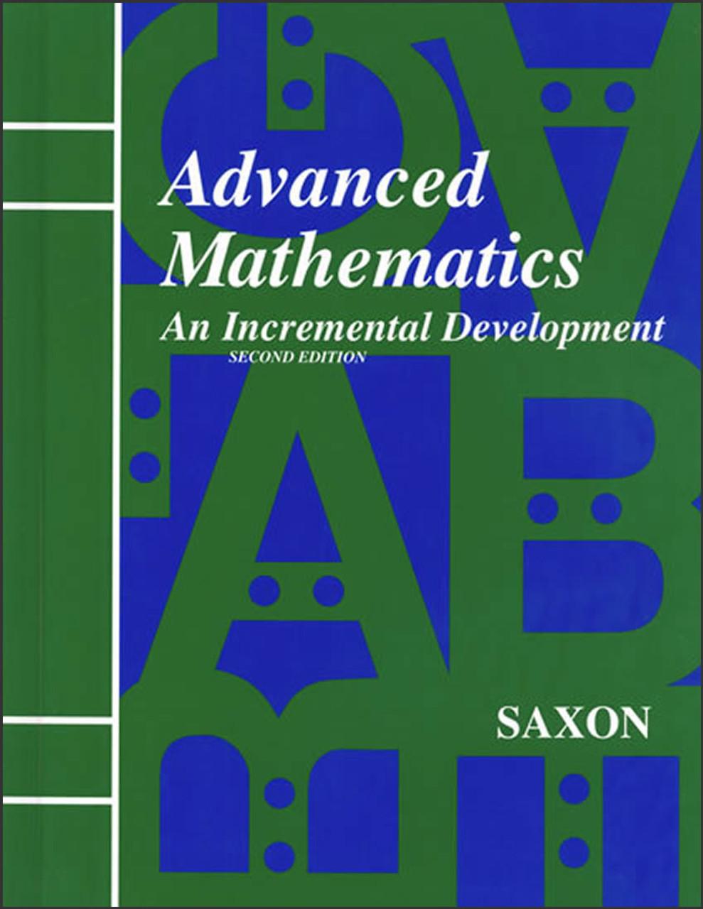 Saxon Advanced Mathematics: An Incremental Development, 2nd edition