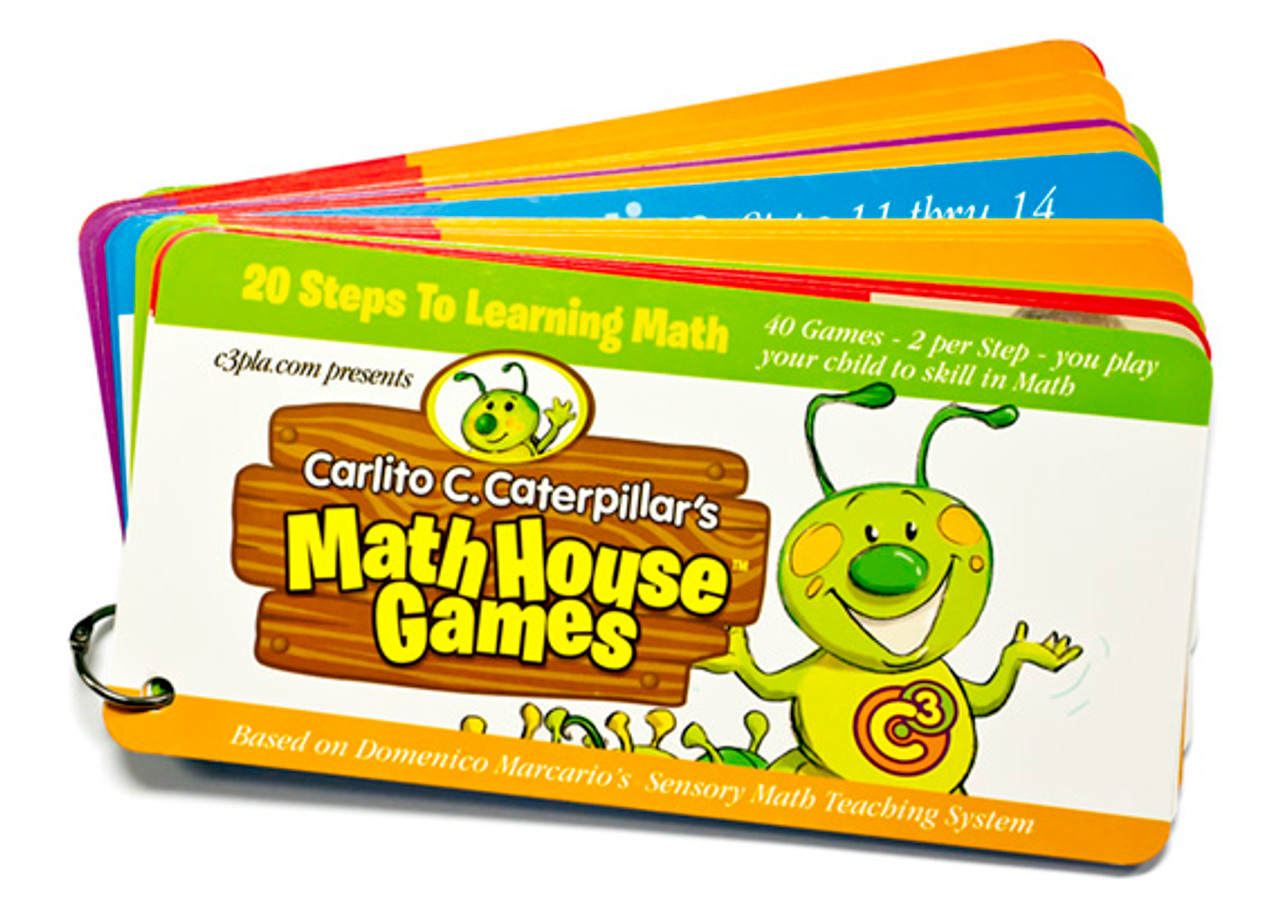 Carlito C. Caterpillar's MathHouse Games