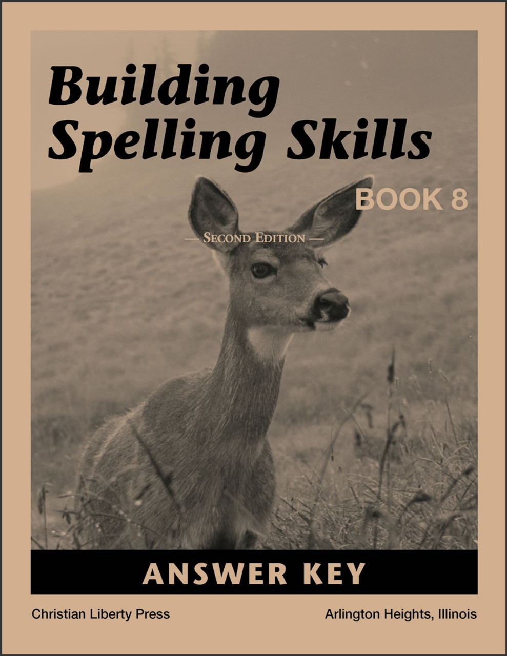 Building Spelling Skills: Book 8, 2nd edition - Answer Key