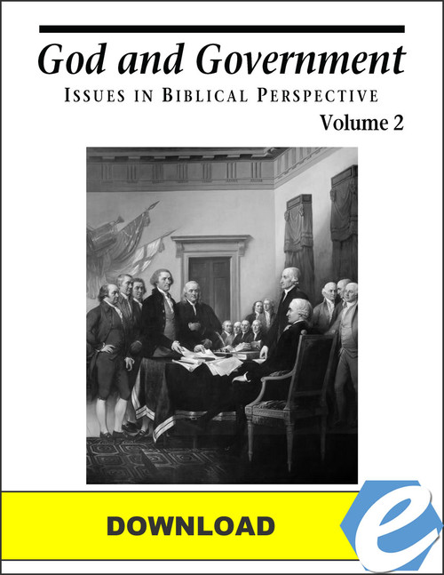 God and Government Volume 2 - Test Packet - PDF