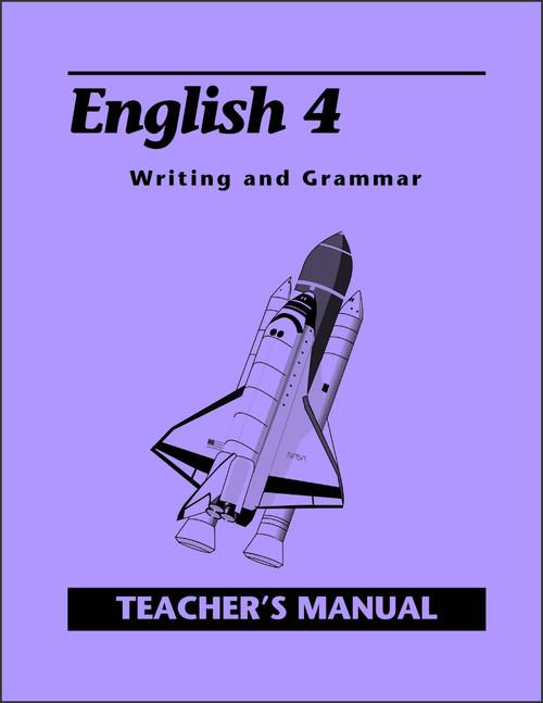 English 4: Writing and Grammar, 2nd edition - Teacher's Manual