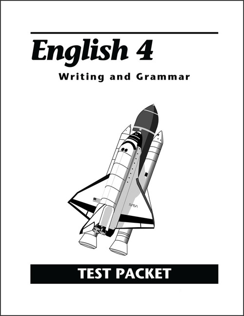 English 4: Writing and Grammar, 2nd edition - Test Packet
