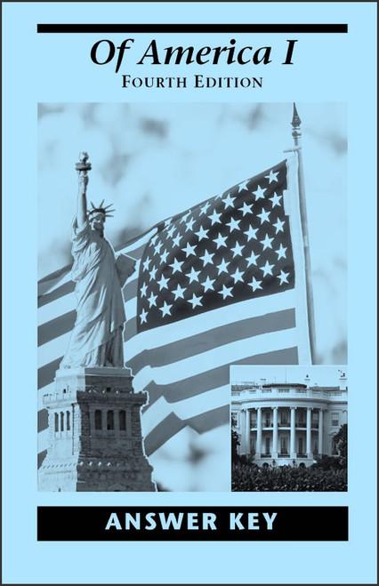Of America I, 4th edition - Answer Key