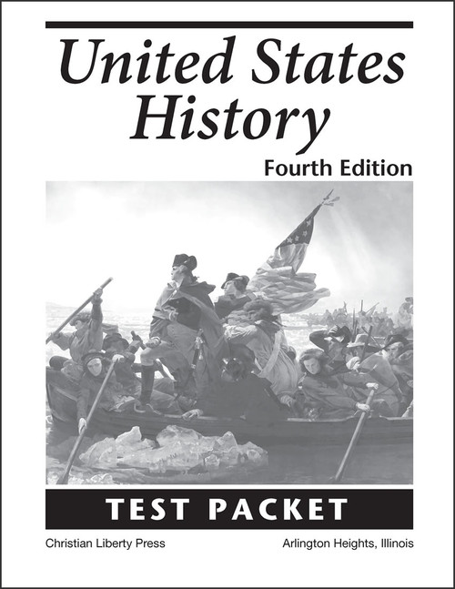 United States History, 4th edition - Test Packet