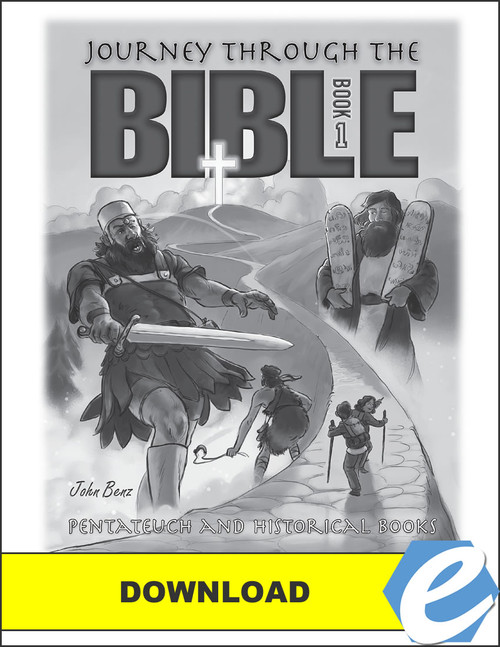 Journey Through the Bible: Book 1 - Pentateuch and Historical Books - Answer Key - PDF Download