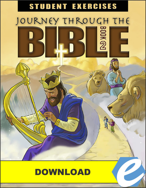 Journey Through the Bible: Book 2 - Wisdom and Prophetic Books - Student Exercises Workbook - PDF Download