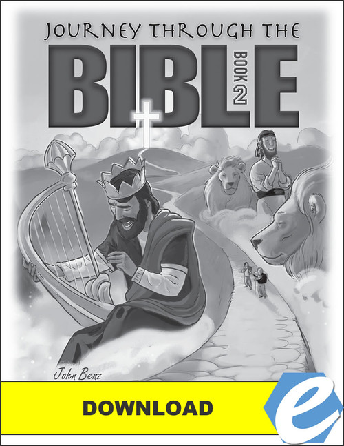 Journey Through the Bible: Book 2 - Wisdom and Prophetic Books - Answer Key - PDF Download
