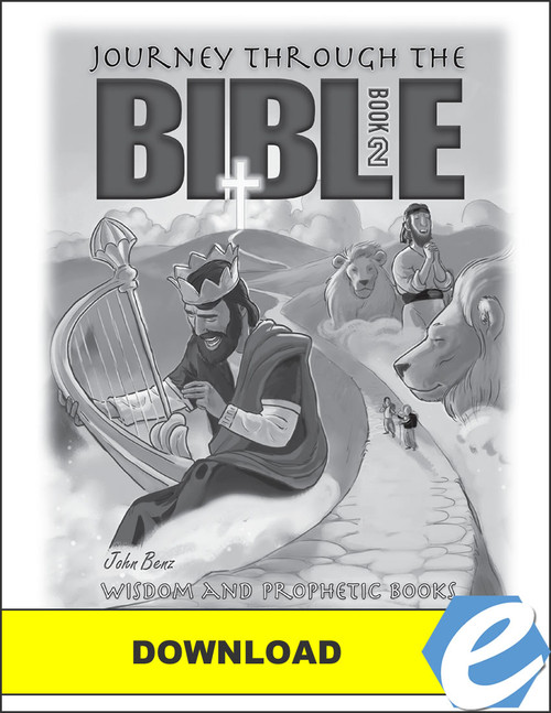 Journey Through the Bible: Book 2 - Wisdom and Prophetic Books - Test Packet - PDF Download