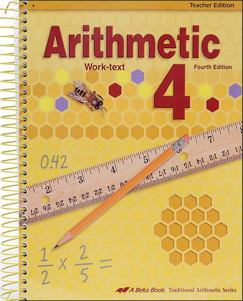Arithmetic 4, 4th edition - Teacher Edition