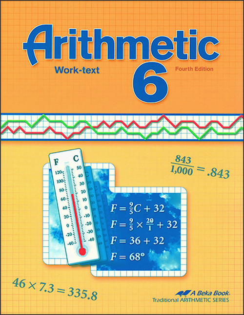 Arithmetic 6, 4th edition