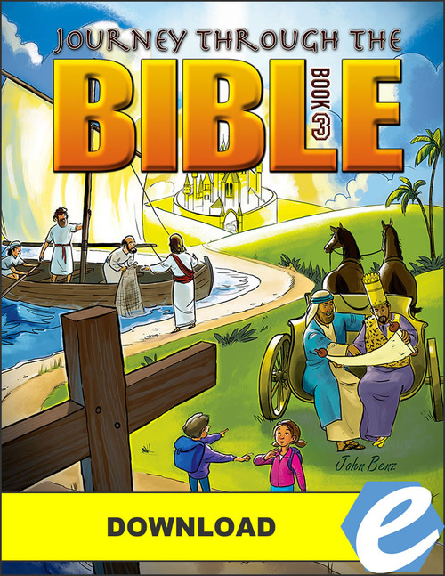 Journey Through the Bible: Book 3 - New Testament - PDF Download