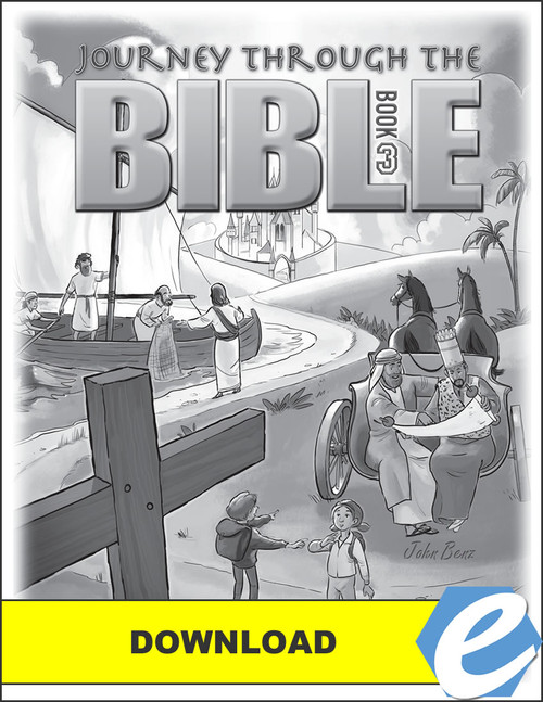 Journey Through the Bible: Book 3 - New Testament - Answer Key - PDF Download