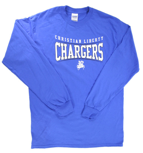 Blue Youth Long Sleeve T-shirt