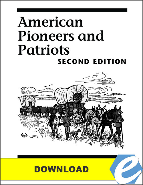 American Pioneers and Patriots, 2nd edition - Test Packet - PDF Download