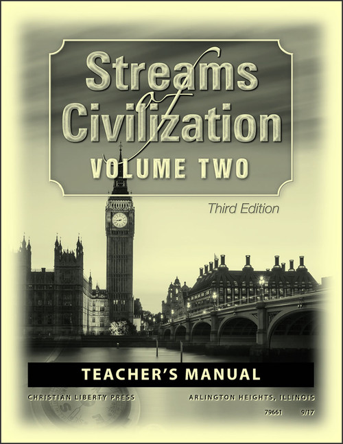 Streams of Civilization Volume Two, 3rd edition - Teacher's Manual