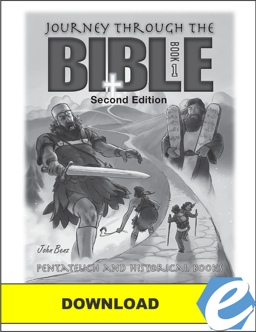 Journey Through the Bible: Book 1 - Pentateuch and Historical Books, 2nd edition - Test Packet - PDF Download