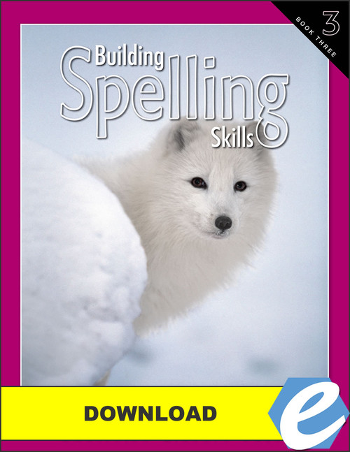 Building Spelling Skills: Book 3, 2nd edition - PDF Download