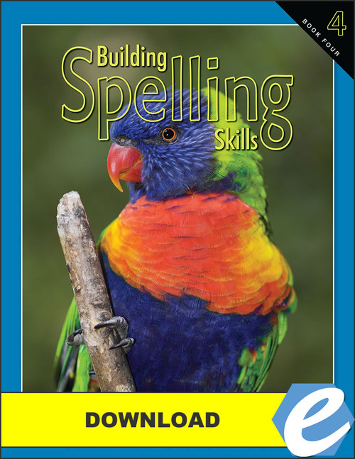 Building Spelling Skills: Book 4, 2nd edition - PDF Download