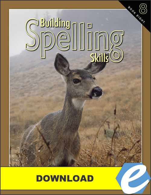 Building Spelling Skills: Book 8, 2nd edition - PDF Download