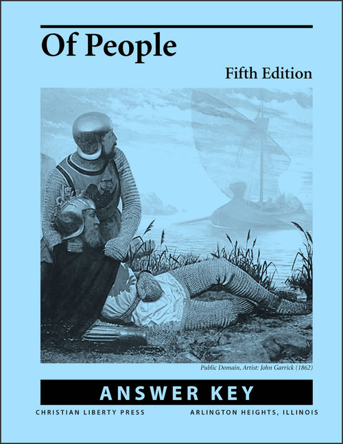 Of People Literature, 5th edition - Answer Key
