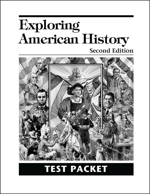 Exploring American History, 2nd edition - Test Packet