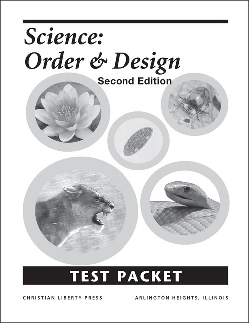 Science: Order and Design, 2nd edition - Test Packet