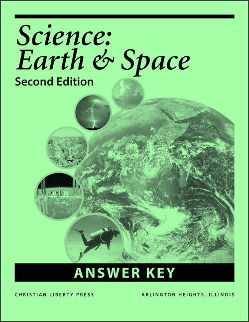 Science: Earth and Space, 2nd edition - Answer Key