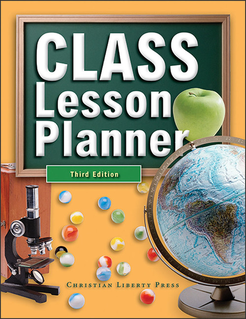 CLASS Lesson Planner, 3rd edition