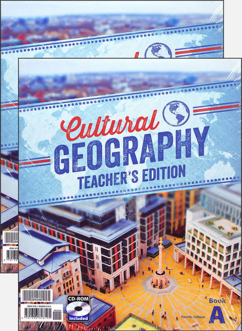 Cultural Geography, 4th edition - Teacher's Edition