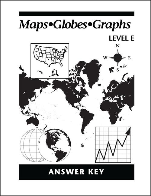 Maps Globes Graphs: Level E - Answer Key