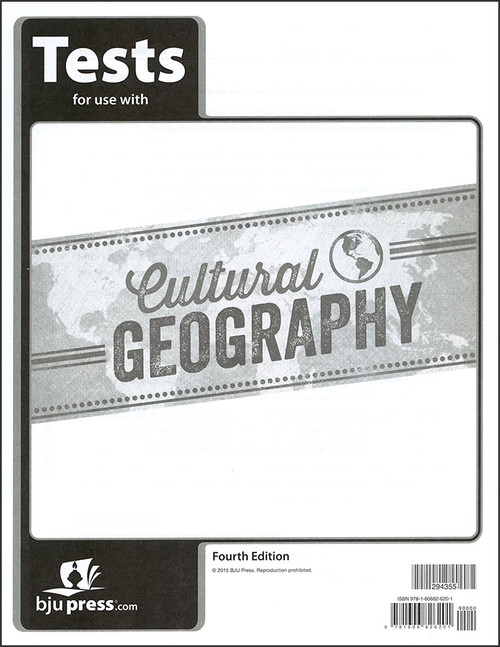 Cultural Geography, 4th edition - Tests
