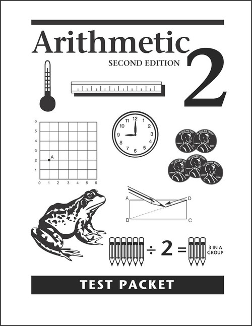 Arithmetic 2, 2nd edition - Test Packet
