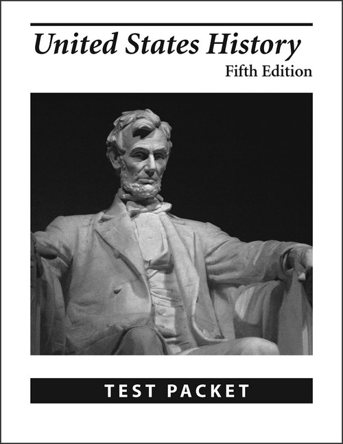 United States History, 5th edition - Test Packet