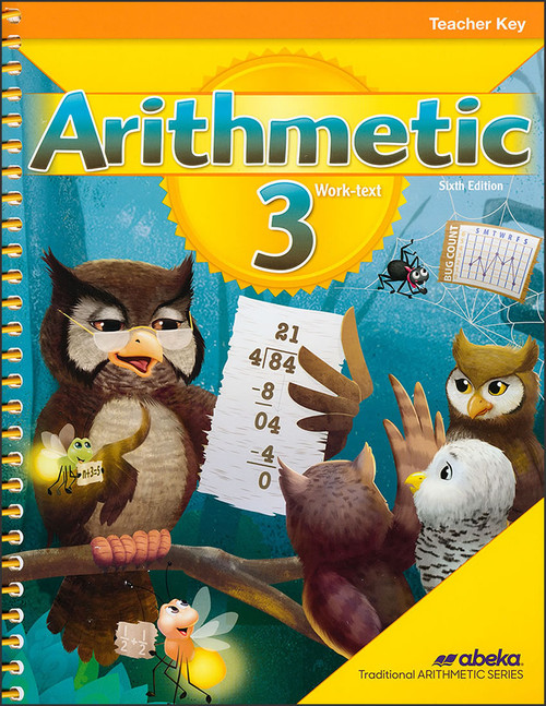 Arithmetic 3, 6th edition - Teacher Key