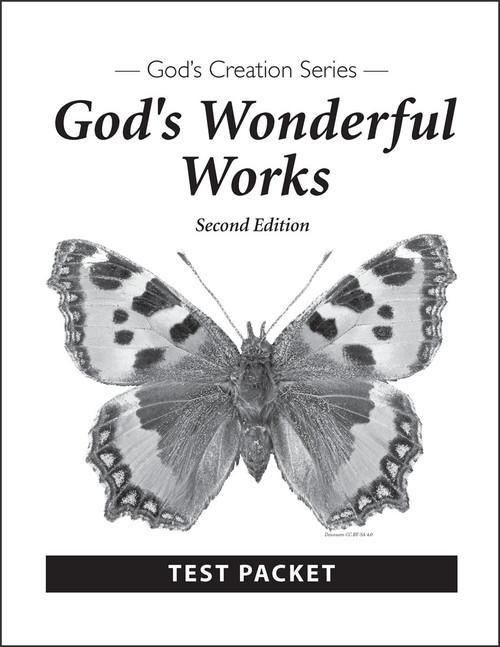 God's Wonderful Works, 2nd edition - Test Packet