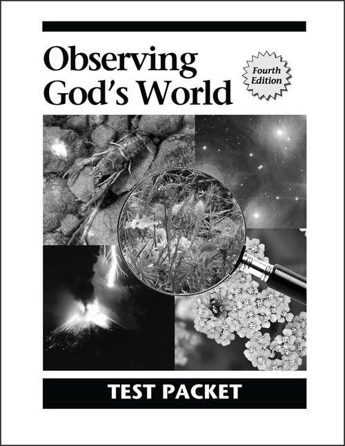 Observing God's World, 4th edition - Test Packet