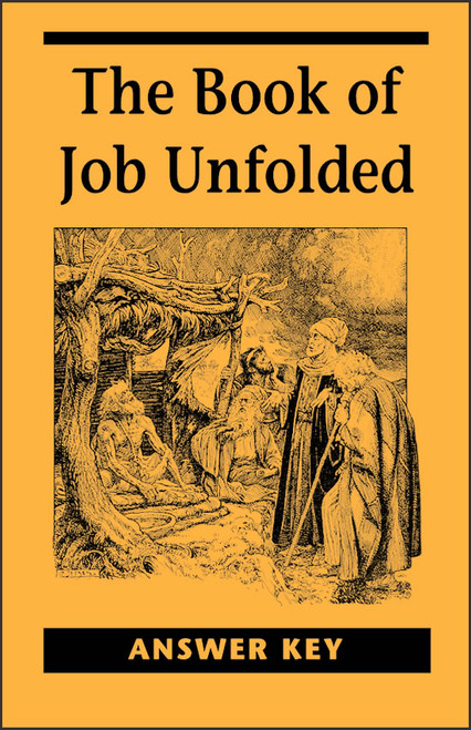 The Book of Job Unfolded Answer Key