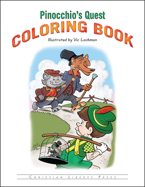 Pinocchio's Quest - Coloring Book