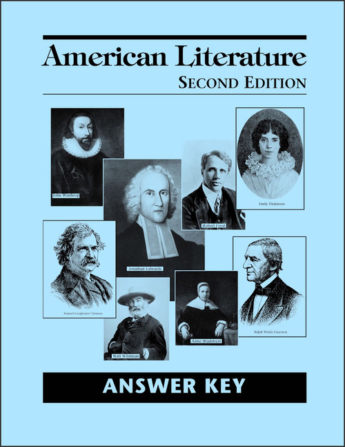 American Literature, 2nd edition - Answer Key