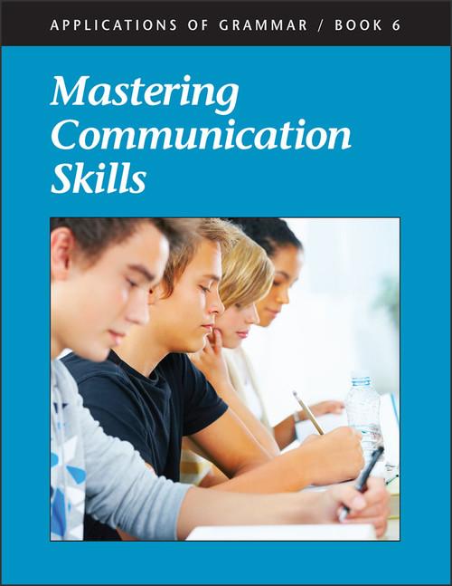 Applications of Grammar Book 6: Mastering Communication Skills