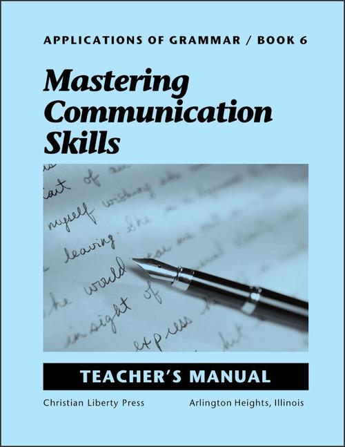 Applications of Grammar Book 6: Mastering Communication Skills - Teacher's Manual