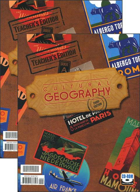 Cultural Geography, 3rd edition - Teacher's Edition