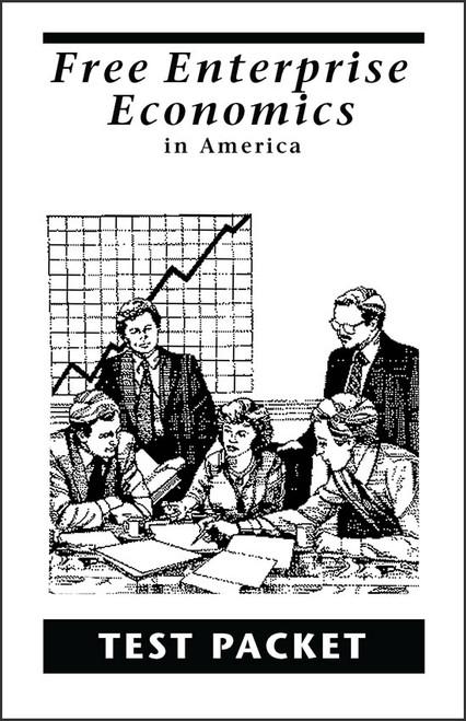 Free Enterprise Economics in America - Test Packet