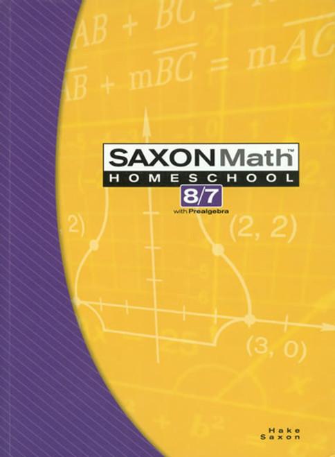 Saxon Math Homeschool 8/7, 3rd edition -  Kit