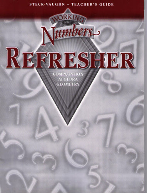 Working with Numbers: Refresher - Teacher's Guide