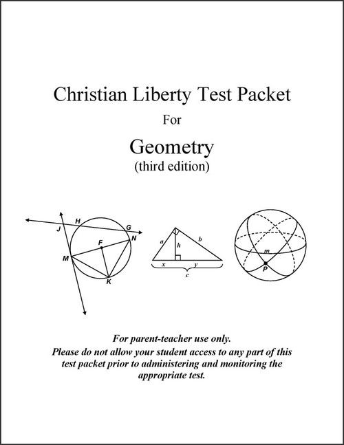 Geometry, 3rd edition - Test Packet