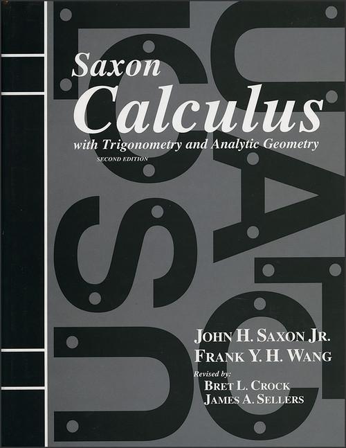 Saxon Calculus, 2nd edition